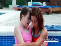 stripping lesbo legal age teenagers make out