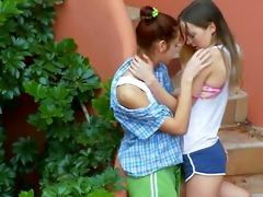 romantic lesbian adventure from italia