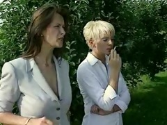 lesbo teachers chastise smokin schoolgirls