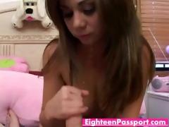 hawt dark brown teeny playgirl lustily sucking