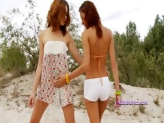 hot lesbo legal age teenagers toying