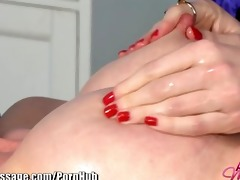 allgirlmassage beautiful lesbo fake penis sex