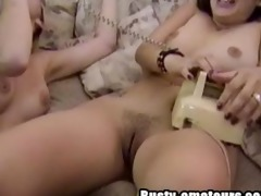 sexy babes playing their cunt during the time