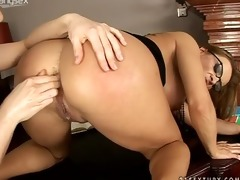 hardcore anal fisting with bonny bon and