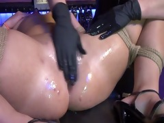 bdsm lesbos play with toys