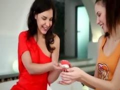 hawt lesbian babes in my motel