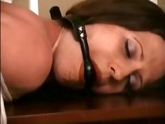 lena fastened and spanked