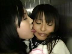 juvenile angel forced lesbian sex in elevator 7