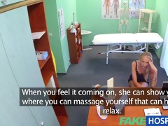 fakehospital claustrophobic hot russian blond