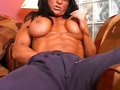 muscle lesbos fmm6