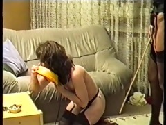 german mistress punishes and uses her villein