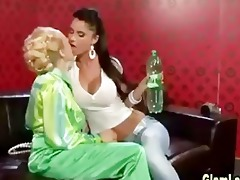 glamour lesbo domination play