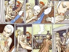 lesbo mistresse beats huge breast serf