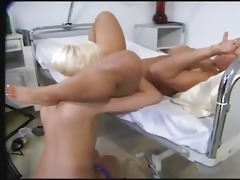 horny lesbian babes in hospital ...f59