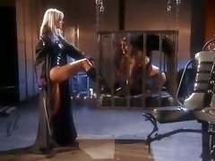 lesbos in leather carli banks and jana cova