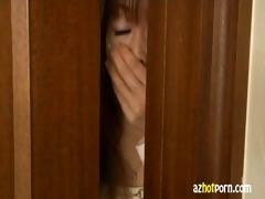 azhotporn.com - oriental lesbo trio intercourse