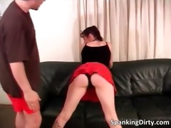naughty dark brown whore acquires booty spanked