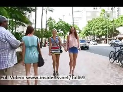 melody and lena lesbo sweethearts flashing her