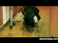 interracial femdom maid to order