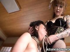 rough oriental mistress ploughs her enjoyable