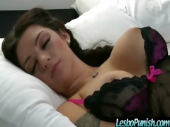 lesbians love to be punished and drilled vid-97