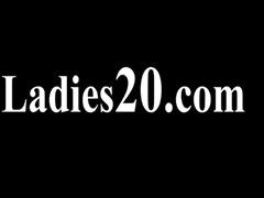 hairy lesbian babes in nylon pants banging