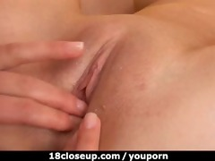 27yo angel tonguing her allies slit & asshole!