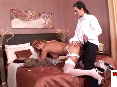 dorothy dark in bridal lesbo night