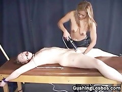 bizarre lesbo servitude part8