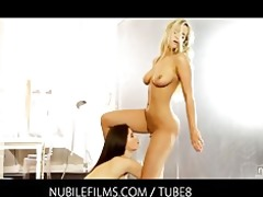 nubile films receive moist