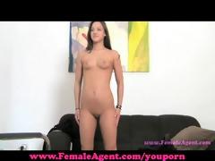 femaleagent. satisfying an agent