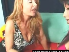 cougar seduces cute juvenile latina