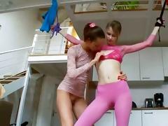 12yo estonian babes playing with toys