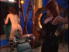 redhead acquires slit whipped and clamped