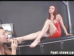 lesbo foot worship 10