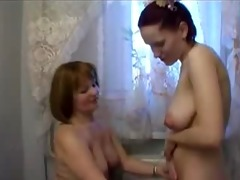 maid and mature mommy lesbo sex