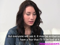 femaleagent shy angel practices her vagina