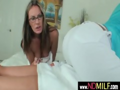 hawt lesbo non-professional milfs toying and