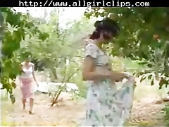 youthful chick old sweethearts again lesbo gal on