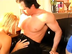 in this swinging first, lesbo pair brooke and