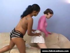 zebra angels - ebon lesbo women enjoy