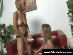 zebra cuties - ebon lesbo women have a fun