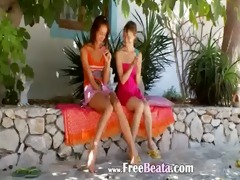 estonian lesbian angels dildoing