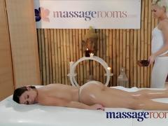 massage rooms hawt juvenile lesbian babes have
