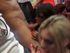 bisex club hotties engulf knobs in public