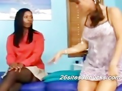 katrina and adesina lesbo massage