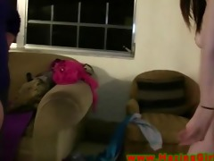college legal age teenagers toy play during their