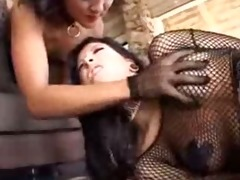 jandi makes villein to take up with the tongue ass