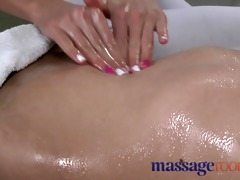 massage rooms beautiful youthful golden-haired