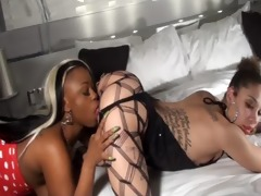 cherise eating coochie doggy style live from